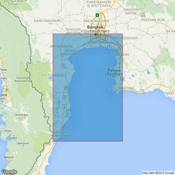 3965 Prachuap Khiri Khan to Ko Chuang Admiralty Chart