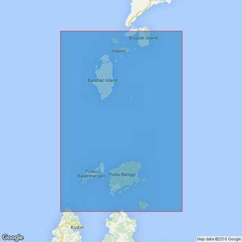 948 Balabac Strait Admiralty Chart