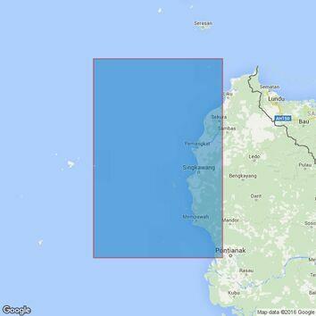 3720 Sungai Kapuas Kecil to Tanjung Bayung Admiralty Chart