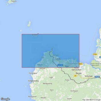 3834 Tanjung Bayung to Tanjung Sipang Admiralty Chart