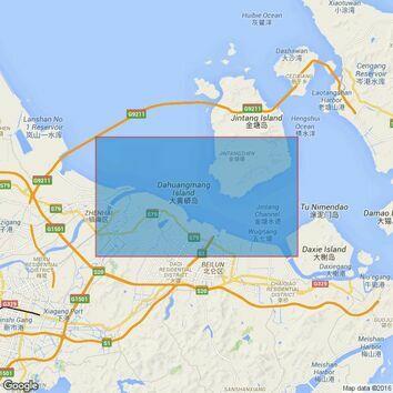 1592 Ningbo Waigang Admiralty Chart