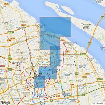1601 Shanghai Admiralty Chart