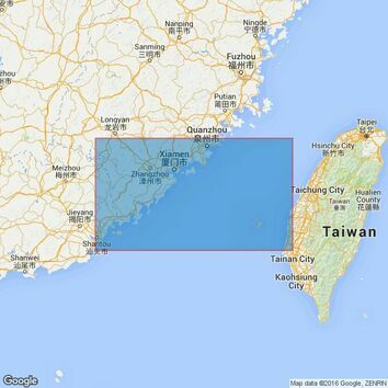 1760 Taiwan StraitSouthern Part Admiralty Chart