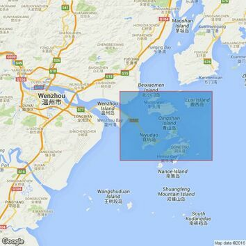 1763 Wenzhou and Approaches Admiralty Chart