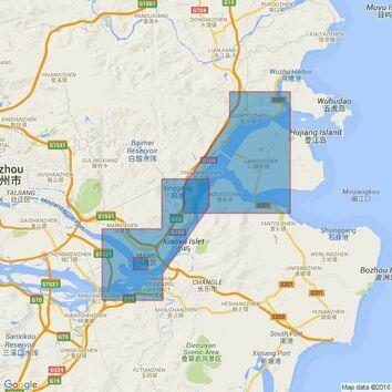 2410 China - Dong Hai, Min Jiang, Minjiang Kou to Mawei Admiralty Chart