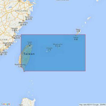 3236 T'ai-Wan to Okinawa Shima Admiralty Chart