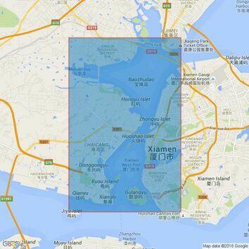 3452 Gulang Yu to Xinglin Admiralty Chart