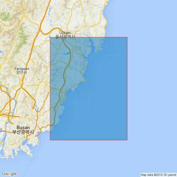 896 Ulsan Hang to Taebyon Hang Admiralty Chart