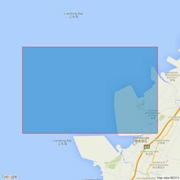 1262 Bayuquan Admiralty Chart
