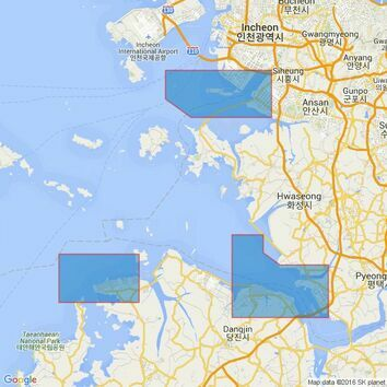 1271 Taesan- P'yongt'aek and Soraep'ogu Admiralty Chart