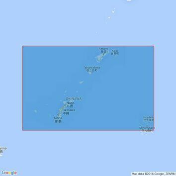 2024 Okinawa Shima to Amami-O Shima Admiralty Chart