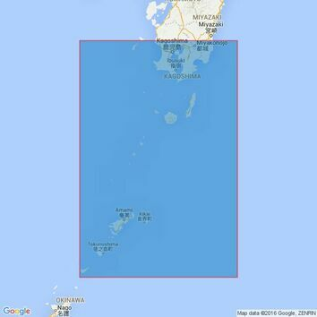 3237 Amami - O Shima to Kagoshima Wan Admiralty Chart