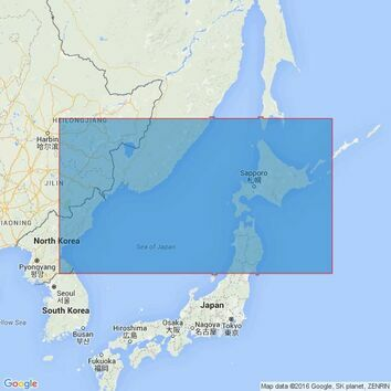 2293 Northern Japan and Adjacent Seas Admiralty Chart