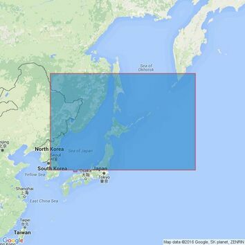 4511 Northern Portion of Japan Admiralty Chart