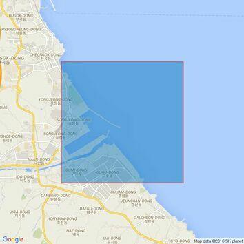 882 Chukpyon Man to Suwon Dan Admiralty Chart