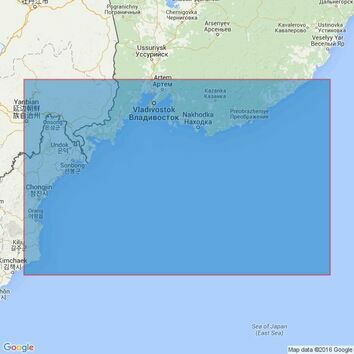 2432 Musu Dan to Mys Nizmennyy Admiralty Chart