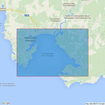 3041 Zaliv Nakhodka Admiralty Chart
