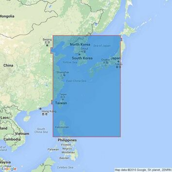 4509 Western Portion of Japan Admiralty Chart
