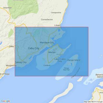 13 Approaches to Cebu Harbour Admiralty Chart