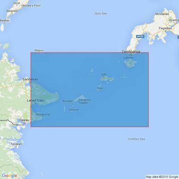 928 Sulu Archipelago Admiralty Chart