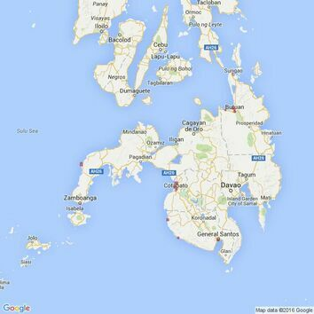 957 Plans in Mindanao Admiralty Chart