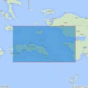 3242 Eastern Portion of Seram Sea Admiralty Chart