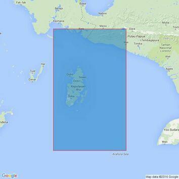 3246 Pulau-Pulau Aru with Part of the South West Coast of Irian Jaya Admiralty Chart