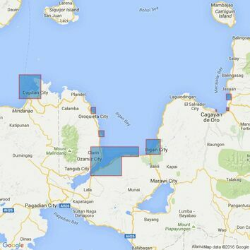 3426 Plans on the North Coast of Mindanao Admiralty Chart