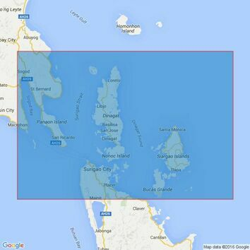 4475 Surigao Strait and Dinagat Sound Admiralty Chart