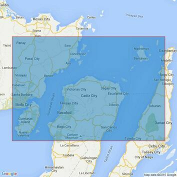 4479 The Passages between Panay Negros and Cebu Admiralty Chart