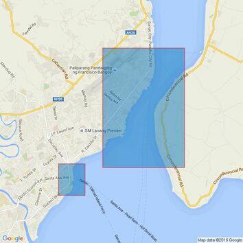 4494 Philippine Islands, Mindanao, Davao Gulf Admiralty Chart