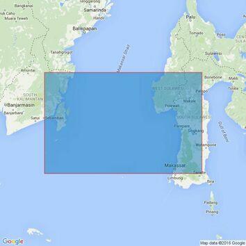 2892 Indonesia, Palau Sabaru to Tanjung Rangus Admiralty Chart