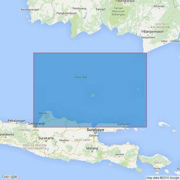 2796 Indonesia. Semarang to Palau-Palau Sapudi Admiralty Chart