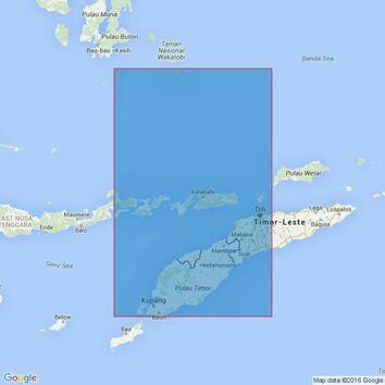 2908 Indonesia and East Timor, Pilau Semau to Pilau Moromaho Admiralty Chart
