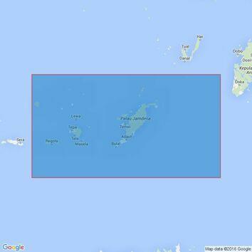 3245 Pulau-Pulau Sermata to Pulau-Pulau Tanimbar Admiralty Chart