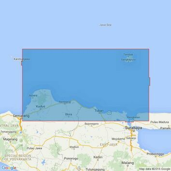 3731 Pulau Panjang to Selat Surabaya Admiralty Chart