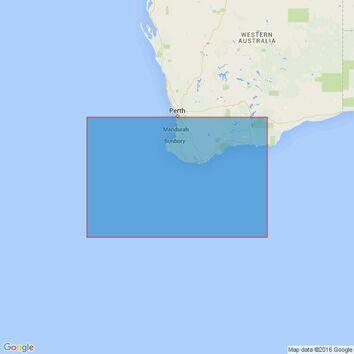 4726 Cape Leeuwin to Esperance Admiralty Chart
