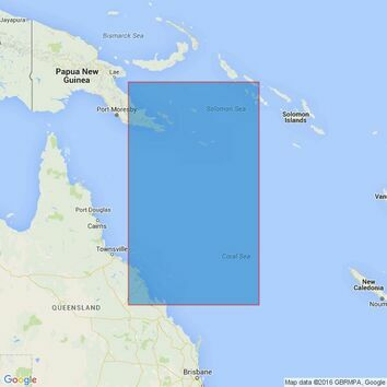 4621 Mackay to Port Moresby Admiralty Chart