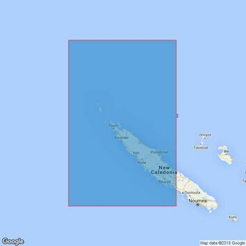 935 Nouvelle-Caledonie (North-western part) Admiralty Chart