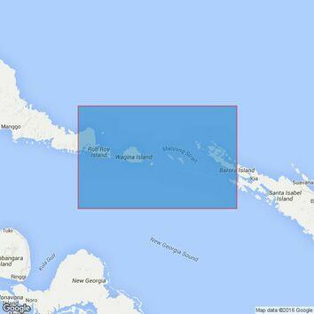 1709 Manning Strait Admiralty Chart