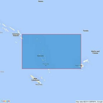 4633 Solomon Islands to Fiji Admiralty Chart