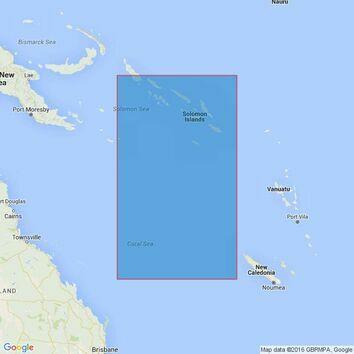4634 FrederickReefs to Solomon Islands Admiralty Chart