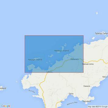 385 Yaqaga Island to Ravi Ravi Passage Admiralty Chart