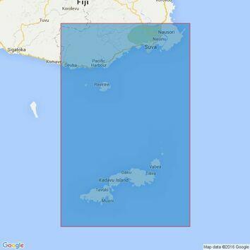 745 Kadavu to Suva Harbour Admiralty Chart