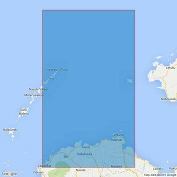 748 Yalewa Kalou Passage to Viti Levu Bay Admiralty Chart