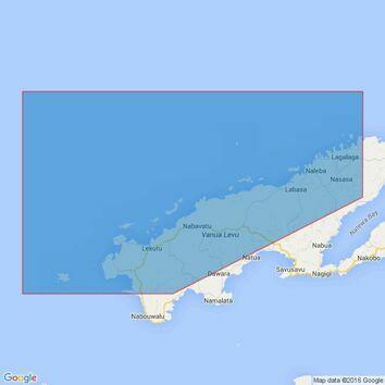 749 Yadua Island to Sau Sau Passage Admiralty Chart