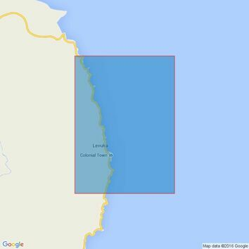 1244 Levuka Harbour Admiralty Chart