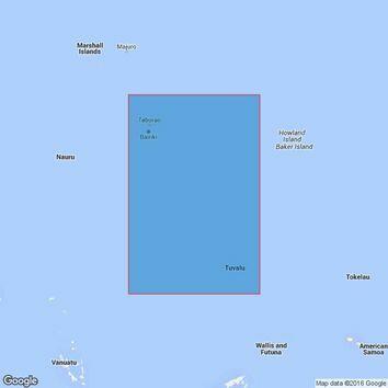 4625 Tuvalu to Butaritari Admiralty Chart