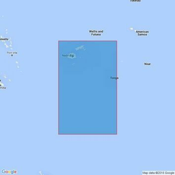 4638 Fiji to Kermadec Islands Including Tongatapu Admiralty Chart