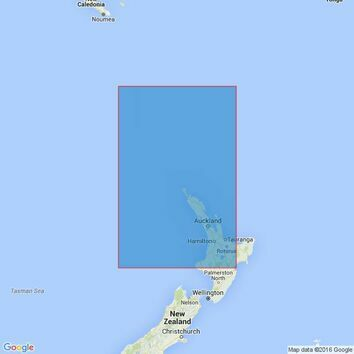 4641 Norfolk Island to Cape Egmont Admiralty Chart